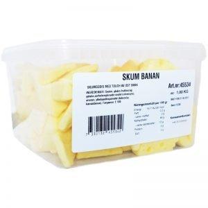 Skumgodis Banan 1 kg - 30% rabatt