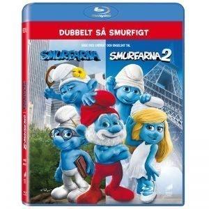 Smurfarna 1 & 2 Blu-Ray - 20% rabatt