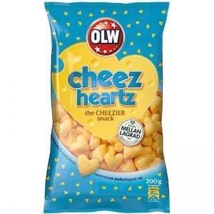"""Snacks """"Cheez Heartz"""" - 32% rabatt"""