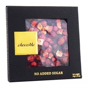 Sockerfri Choklad Jordgubbar, Björnbär & Röda Vinbär 50g - 66% rabatt