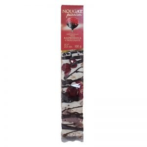 "Soft Nougat ""Raspberries & Chocolate"" 100g - 60% rabatt"