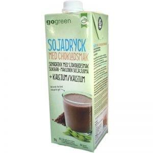 Sojadryck med chokladsmak - 50% rabatt