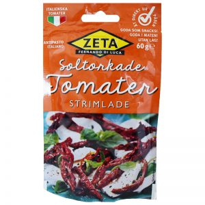 Soltorkade Tomater Strimlade 60g - 40% rabatt