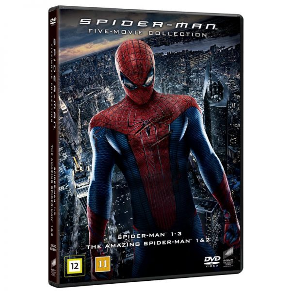 Spiderman 1-5 - 40% rabatt