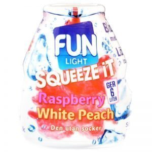 Squeeze it Rasp & Peach - 71% rabatt