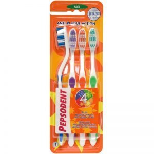 "Tandborstar ""4X Cleaning"" 4-pack - 48% rabatt"