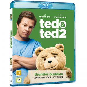 Ted 1 & 2 Blu-Ray - 20% rabatt