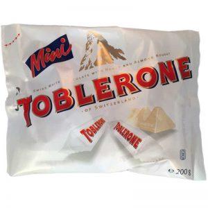 Toblerone white mini - 37% rabatt