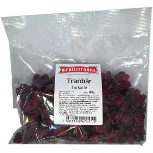 Torkade Tranbär - 33% rabatt