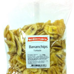 Torkade bananchips - 28% rabatt