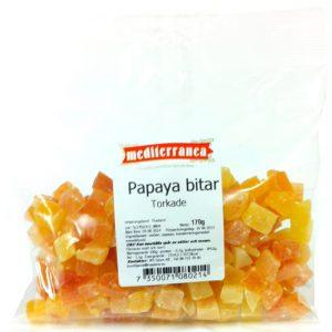 Torkade papayabitar - 31% rabatt
