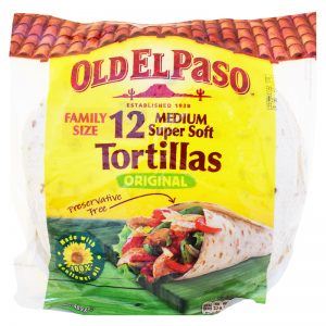 "Tortillabröd ""Family Size"" 489g - 23% rabatt"
