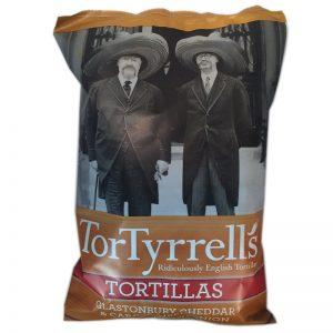 Tortillachips Cheddar & Karameliserad lök - 83% rabatt