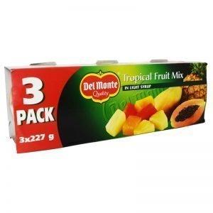 Tropiska Frukter Sockerlag 3 x 140g - 22% rabatt