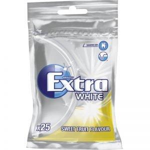 """Tuggummin """"White Fruit"""" 35g - 33% rabatt"""
