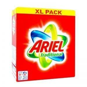 Tvättmedel Ariel XL-pack - 45% rabatt