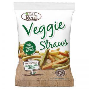 """Veggie Straws """"Kale, Tomato & Spinach"""" 45g - 33% rabatt"""