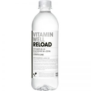 Vitamin Well Citron & Lime 500ml - 50% rabatt