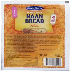 "Bröd ""Naan Bread Mini"" 260g - 37% rabatt"
