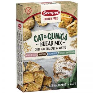 "Brödmix ""Oat & Quinoa"" 460g - 32% rabatt"