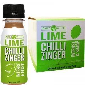 "Eko Hel Låda Dryck ""Zinger Lime & Chilli"" 15 x 70ml - 46% rabatt"