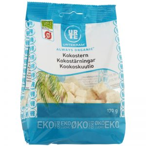 Eko Kokostärningar 170g - 26% rabatt