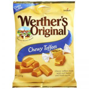 "Godis ""Chewy Toffees"" 135g - 29% rabatt"