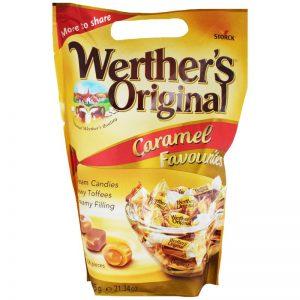 "Godis ""Werthers Original"" 605g - 80% rabatt"