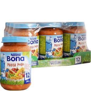 Hel Låda Barnmat Pasta & Pollo 12 x 200g - 23% rabatt
