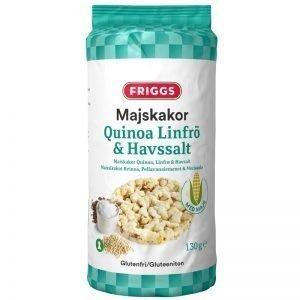 Majskakor Quinoa, Linfrö & Havssalt 130g - 31% rabatt