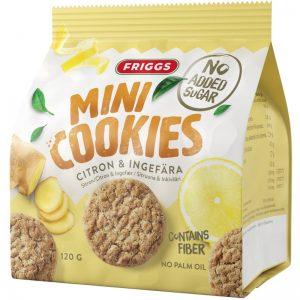 Minikakor Citron & Ingefära 120g - 24% rabatt