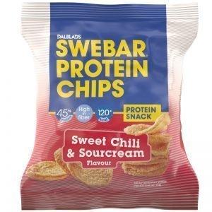 """Proteinchips """"Sweet Chili & Sourcream"""" 30g - 21% rabatt"""