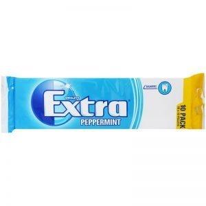 """Tuggummin """"Peppermint"""" 10 x 14g - 31% rabatt"""