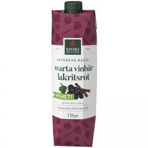 Dryck Svarta Vinbär & Lakritsrot 1l - 41% rabatt