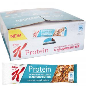 "Hel låda Proteinbars ""Coconut, Cocoa & Cashew"" 18 x 35g - 50% rabatt"