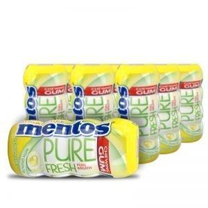 "Hel låda Tuggummi ""Pure Fresh Lemonade"" 10 x 13g - 34% rabatt"