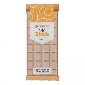 Blockchoklad Vit 150g - 33% rabatt