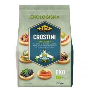Crostini 100g - 50% rabatt