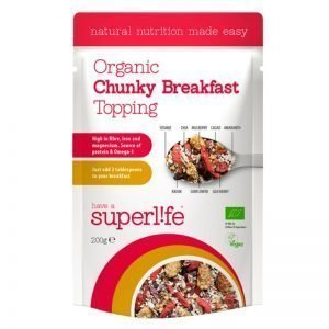 """Eko Frukost Topping """"Chunky Breakfast"""" 200g - 61% rabatt"""