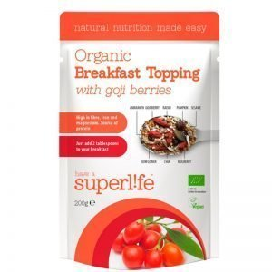 "Frukost Topping ""With Goji Berries"" 200g - 61% rabatt"