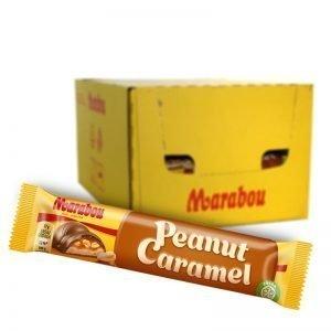 """Hel låda Chokladbar """"Peanut Caramel"""" 36 x 37g - 63% rabatt"""