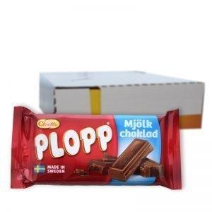 Hel låda Plopp Mjölkchoklad 30x40g - 59% rabatt