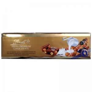"""Mjölkchoklad """"Raisin & Hazelnut"""" 300g - 34% rabatt"""