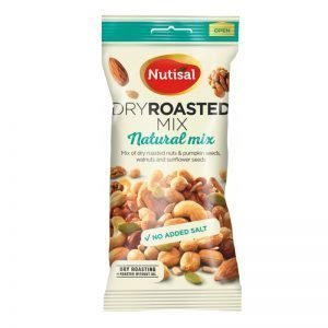 "Nötmix ""Dry Roasted"" 60g - 47% rabatt"