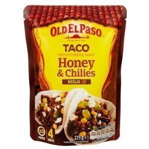 "Sås ""Taco Honey & Chilies"" Mild 225g - 42% rabatt"
