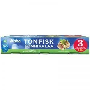Tonfisk Solrosolja 3 x 95g - 27% rabatt