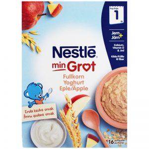 Barnmat Fullkornsgröt Yoghurt & Äpple 2 x 240g - 32% rabatt