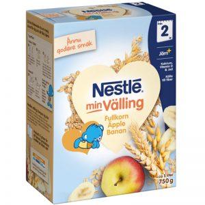 Barnmat Fullkornsvälling Äpple & Banan 750g - 47% rabatt