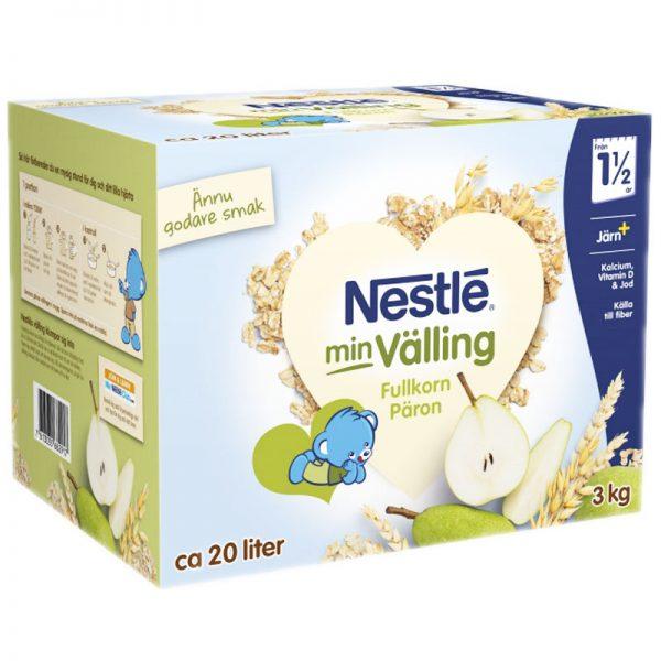 Barnmat Fullkornsvälling Päron 3kg - 23% rabatt