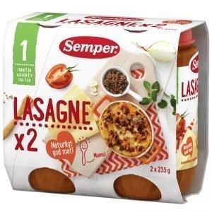 Barnmat Lasagne 2 x 235g - 34% rabatt